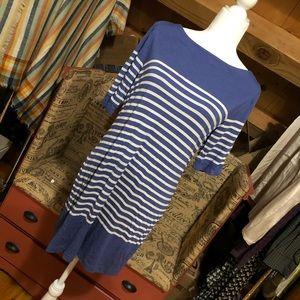 Banana Republic Striped Shirt Dress